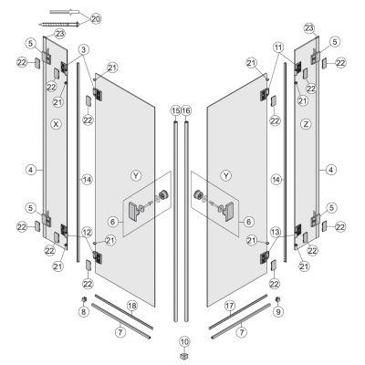 Koło Niven profil progowy srebrny połysk A170159_3