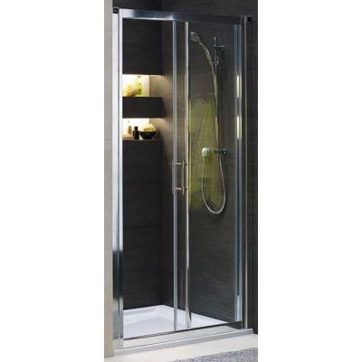 Koło Geo 6 drzwi prysznicowe 100 cm wnękowe 2-elementowe szkło przezroczyste GDRS10222003