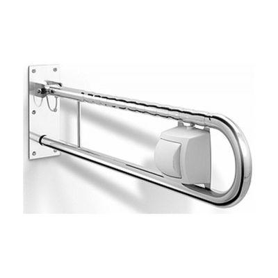 Koło Lehnen Funktion poręcz WC ścienna łukowa z przyciskiem pneumatycznym spłukującym prawa L1061712