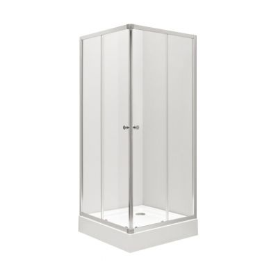 Koło First kabina kwadratowa 90 cm szkło przezroczyste ZKDK90222003