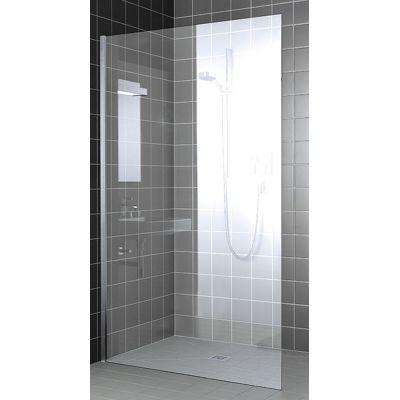 Kermi XC WIO Walk-In ścianka prysznicowa 90 cm profile czarne/szkło przezroczyste XCWIO09020CZARNYSOFTPK