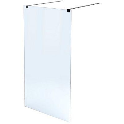 Massi Walk-In ścianka prysznicowa 140 cm walk-in szkło przezroczyste MSKP-FA1020-140-BL