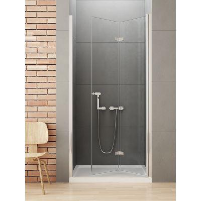 New Trendy New Soleo drzwi prysznicowe 120 cm wnękowe prawe szkło przezroczyste D-0138A