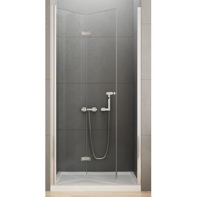 New Trendy New Soleo drzwi prysznicowe 120 cm wnękowe lewe szkło przezroczyste D-0137A