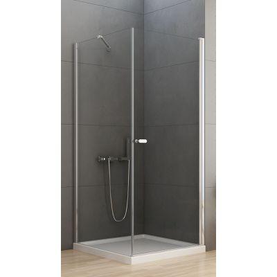 New Trendy New Soleo kabina prysznicowa 80 cm kwadratowa szkło przezroczyste D-0140A/D-0087B