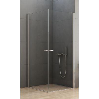 New Trendy New Soleo kabina prysznicowa 100x80 cm prostokątna szkło przezroczyste D-0140A/D-0142A