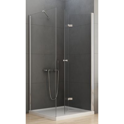 New Trendy New Soleo kabina prysznicowa 100x90 cm prostokątna prawa szkło przezroczyste D-0153A/D-0089B