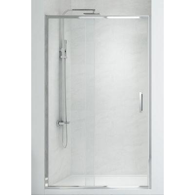 New Trendy New Corrina drzwi prysznicowe 110 cm wnękowe szkło przezroczyste D-0182A