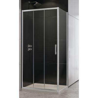 New Trendy Alta III kabina prysznicowa 100x80 cm prostokątna szkło przezroczyste D-0254A/D-0078B