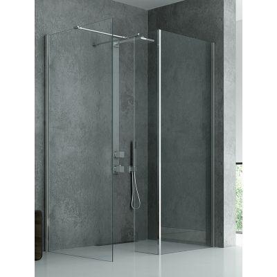 New Trendy New Modus ścianka prysznicowa 30 cm Walk-in chrom/szkło przezroczyste EXK-0053