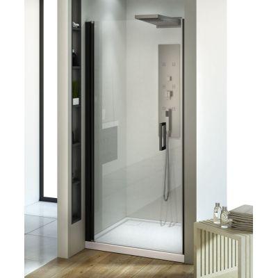 New Trendy Negra drzwi prysznicowe 90 cm wnękowe szkło przezroczyste EXK-1128