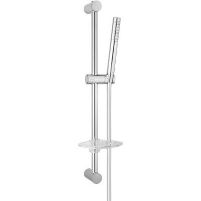 Oltens Ume Alling 60 zestaw prysznicowy z mydelniczką chrom 36006100