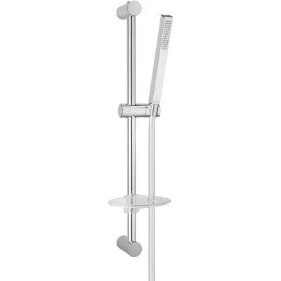 Oltens Sog Alling 60 zestaw prysznicowy z mydelniczką chrom 36007100