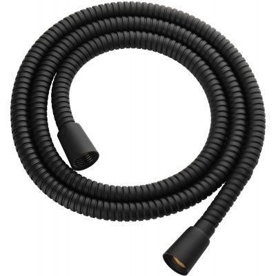 Omnires wąż prysznicowy 125 cm czarny mat 022-XBL