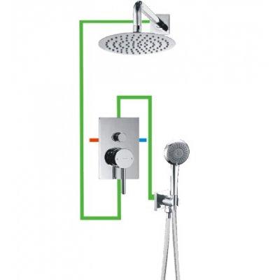 Omnires Y system łazienkowy podtynkowy kompletny SYS23/K
