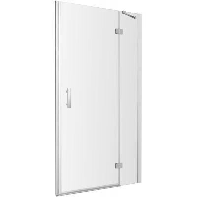 Omnires Manhattan drzwi prysznicowe 90 cm szkło przezroczyste ADP90XLUX-TCRTR
