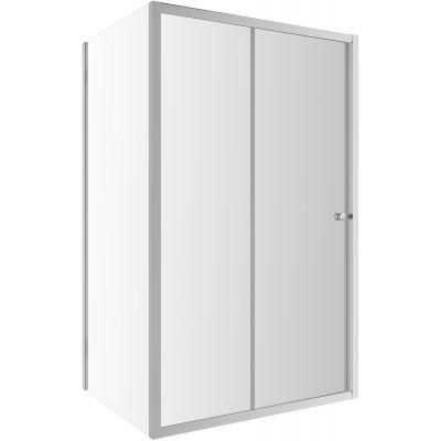Omnires Bronx drzwi prysznicowe 130 cm szkło przezroczyste S-2050130CRTR