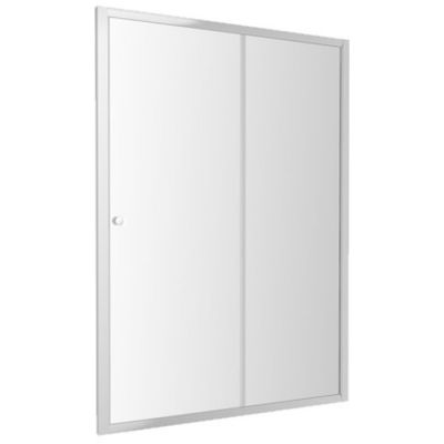 Omnires Bronx drzwi prysznicowe 140 cm szkło przezroczyste S2050140CRTR