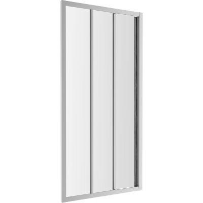 Omnires Bronx drzwi prysznicowe 100 cm szkło przezroczyste S20A3100CRTR