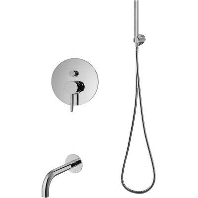 Omnires Y zestaw wannowo-prysznicowy podtynkowy chrom SYSYW01CR