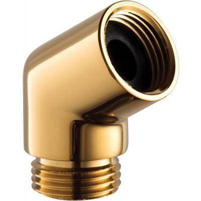 Omnires kolanko do słuchawki prysznicowej złote T87ZL