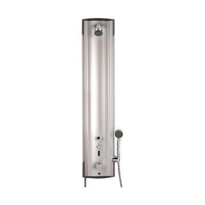 Oras Electra panel prysznicowy bezdotykowy termostatyczny chrom/aluminium 6662F