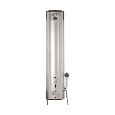 Oras Electra panel prysznicowy elektroniczny termostatyczny aluminium/chrom 6662FTX