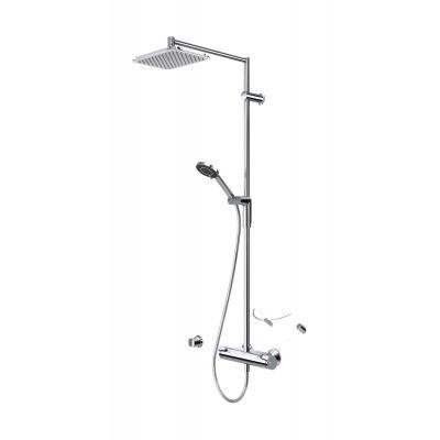 Oras Optima zestaw prysznicowy ścienny termostatyczny chrom 7192U