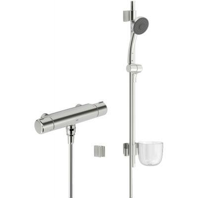 Oras Nova zestaw prysznicowy z baterią termostatyczną chrom 7429