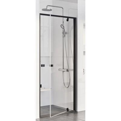 Ravak Pivot PDOP1-90 drzwi prysznicowe 90 cm czarny/transparent 03G70300Z1