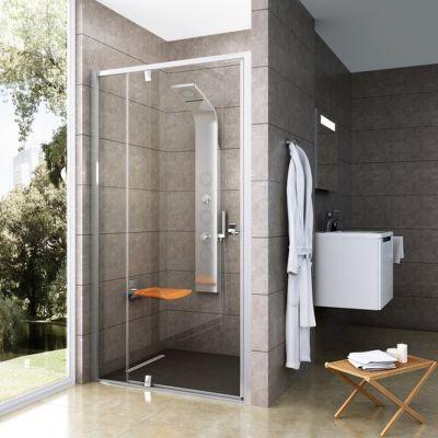 Ravak Pivot PDOP2-100 drzwi prysznicowe 100 cm satyna/transparent 03GA0U00Z1