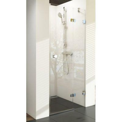 Ravak Brillant BSD2-80 P drzwi prysznicowe 80 cm wnękowe prawe szkło transparentne 0UP4AA00Z1