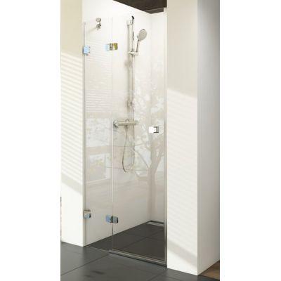 Ravak Brillant BSD2-80 L drzwi prysznicowe 80 cm wnękowe lewe szkło transparentne 0UL4AA00Z1