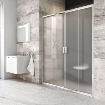 Ravak Blix BLDP4-170 drzwi prysznicowe 170 cm przesuwne polerowane aluminium/transparent 0YVV0C00Z1