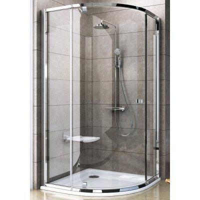 Ravak Pivot PSKK3-90 kabina prysznicowa półokrągła polerowane aluminium + transparent 37677C00Z1