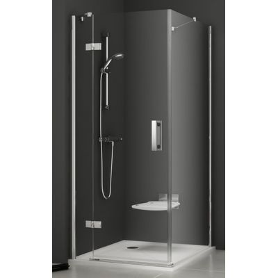 Ravak SmartLine SMPS-90 L ścianka prysznicowa 90 cm stała lewa chrom/transparent 9SL70A00Z1