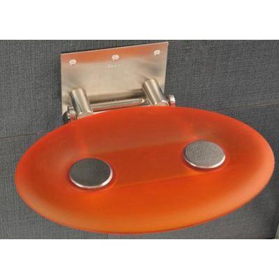 Ravak OVO-P siedzisko prysznicowe pomarańczowe B8F0000005