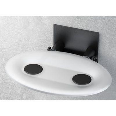 Ravak Ovo-P siedzisko prysznicowe białe B8F0000043