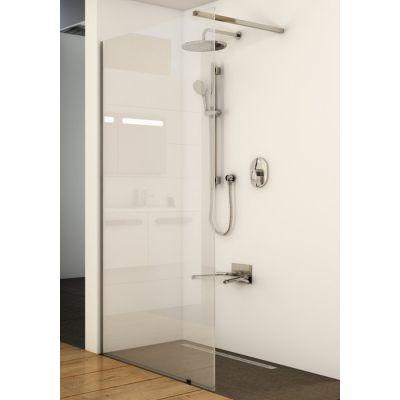 Ravak Wall ścianka prysznicowa Walk-In 110 cm polerowane aluminium/transparent GW9WD0C00Z1