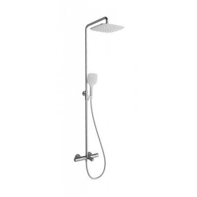 Ravak Termo TE 092.00/150 zestaw prysznicowy ścienny chrom X070098