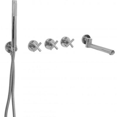 Rea Exit zestaw wannowo-prysznicowy podtynkowy chrom REA-B8005
