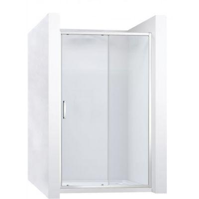 Rea Slide Pro drzwi prysznicowe 130 cm wnękowe szło przezroczyste REA-K5306