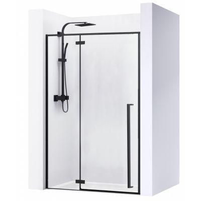 Rea Fargo drzwi prysznicowe 120 cm wnękowe szkło przezroczyste REA-K6328