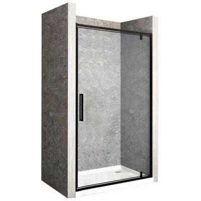 Rea Rapid Swing drzwi prysznicowe 100 cm szkło przezroczyste REA-K6410