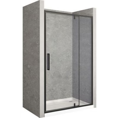 Rea Rapid Swing drzwi prysznicowe 140 cm szkło przezroczyste REA-K6415