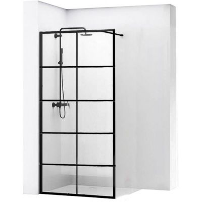 Rea Bler 1 Walk-In ścianka prysznicowa 90 cm wolnostojąca szkło przezroczyste REA-K7953