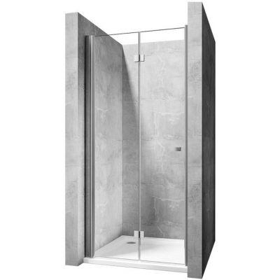 Rea MySpace N drzwi prysznicowe 80 cm szkło przezroczyste REA-K7999