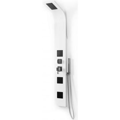 Rea 9786 panel prysznicowy ścienny biały REA-P0602