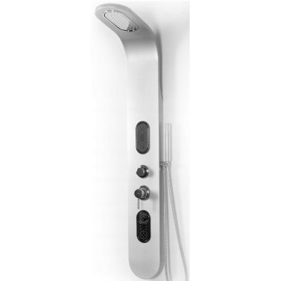 Rea 9790 panel prysznicowy ścienny srebrny REA-P0603
