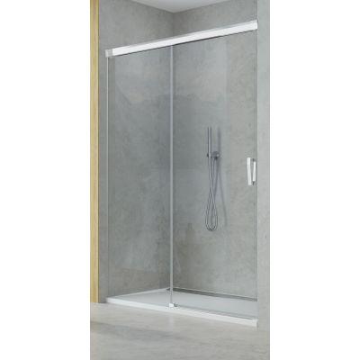 SanSwiss Cadura drzwi prysznicowe 120 cm lewe szkło przezroczyste CAS2G1205007